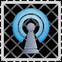 Internet Antenna Signal Icon