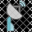 Antenna Communication Sign Icon