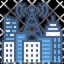 Antenna Tower City Icon