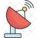 Antenna Broadcasting Dish Icon