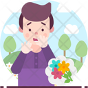 Anthrophobia Fear Of Flowers Icon