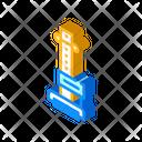 Anthropometry Tool Isometric Icon