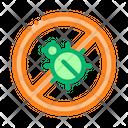 Mattress Anti Isolated Icon