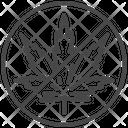 Anti cannabis Icon