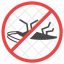 Anti Cockroach Exterminator Insect Icon