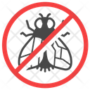 Anti Fly Exterminator Insect Icon