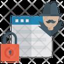 Anti Hacker Security Antivirus Anti Hacking Icon