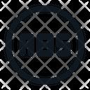 Anti-lock braking system Icon