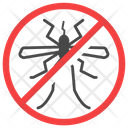 Anti Mosquito Exterminator Insect Icon