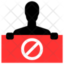 Anti protest Icon