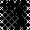 Anti social man Icon