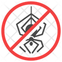Anti Spider Exterminator Insect Icon