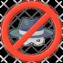 No Spy Anti Spy Avoid Spy Icon