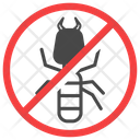 Anti Termite Exterminator Insect Icon