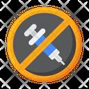 Anti Vaccination Icon