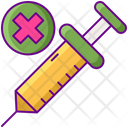 Anti Vax Vaccination Medicine Icon