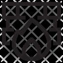 Anti Virus Firewall Icon