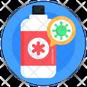 Antibacterial Spray Icon