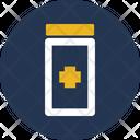 Antibiotic Medical Treatment Medicine Jar Icon