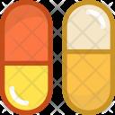Antibiotic Capsules Cure Icon