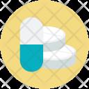 Antibiotics Medicine Capsule Icon