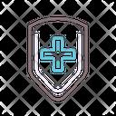 Antibodies Protection Shield Icon