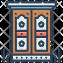 Antic Eccentric Singular Icon