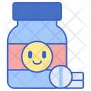 Antidepressant Drug Medication Icon