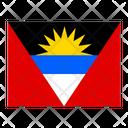 Antigua And Barbuda Flag Flags Icon