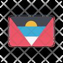 Antigua And Barbuda Ag Flag Country Icon