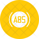 Antilock Brake Braking Icon