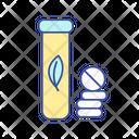 Antioxidant In Pills Icon