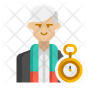 Antiquarian Male Antiquarian Archaeologist Icon