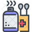 Alcohol Antiseptic Healing Icon