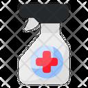 Antiseptic Hygiene Virus Icon