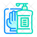 Antiseptic Gloves Canteen Icon