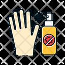 Antiseptic Sanitary Disinfectant Icon