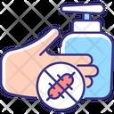 Antiseptic Hand Washing Icon