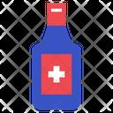 Antiseptic Liquid Medical Liquid Medical Bottle Icon
