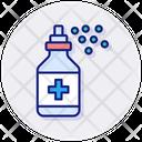 Antiseptic Spray Icon