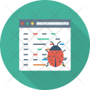 Antivirus Bug Coding Icon