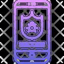 Antivirus Shield Phone Icon