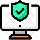 Computer Antivirus Protection Icon