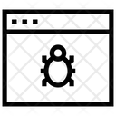 Firewall Security Shield Icon