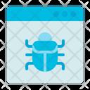 Virus Computer Security Icon