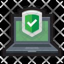 Antivirus Antimalware Secured Icon