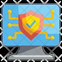 Antivirus Computer Monitor Icon