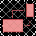 Antivirus Transfer Virus Icon