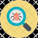 Antivirus Bug Searching Icon