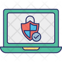 Antivirus Protected Certified Security Protection Technology Icon